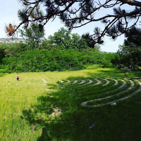 labyrinthe méditation guidée