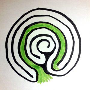 labyrinthe à 5 circonvolutions voyage 1
