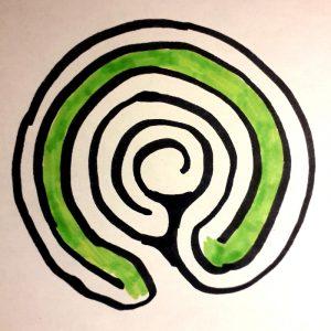 labyrinthe à 5 circonvolutions voyage 2