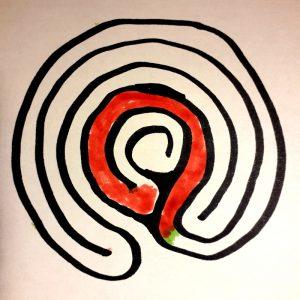 labyrinthe à 5 circonvolutions voyage 4
