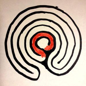 labyrinthe à 5 circonvolutions voyage 5