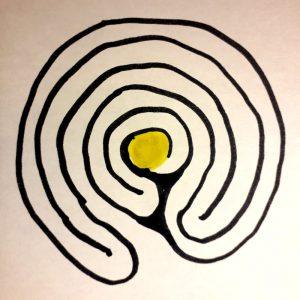 labyrinthe à 5 circonvolutions Centre