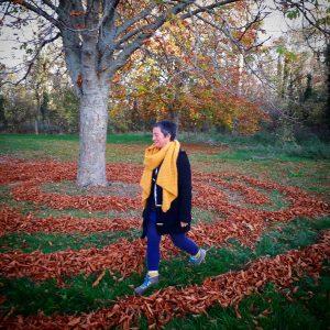 marche meditative labyrinthe