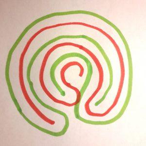 labyrinthe à 5 circonvolutions Masculin Féminin