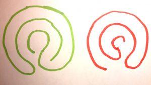 labyrinthe à 5 circonvolutions masculin feminin